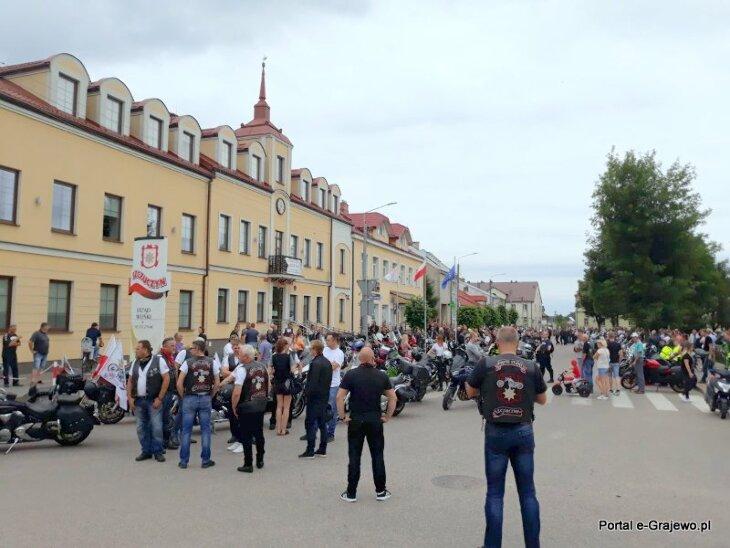 Zlot Motocyklowy w Szczuczynie 4.07.2021