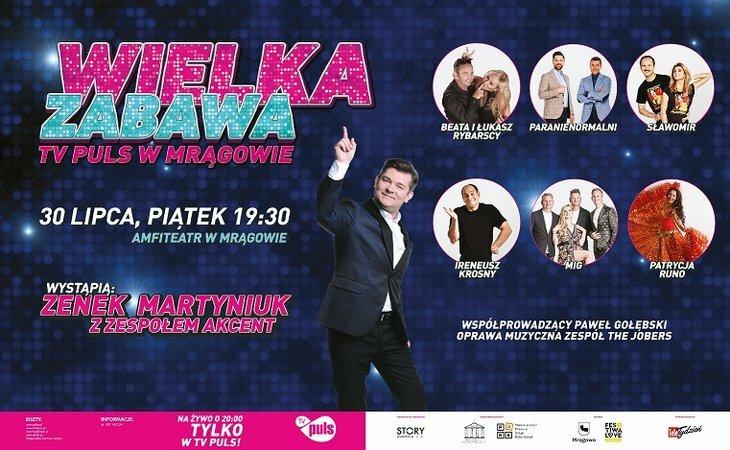 Wielka Zabawa TV Puls w Mrągowie - 30.07.2021 r.