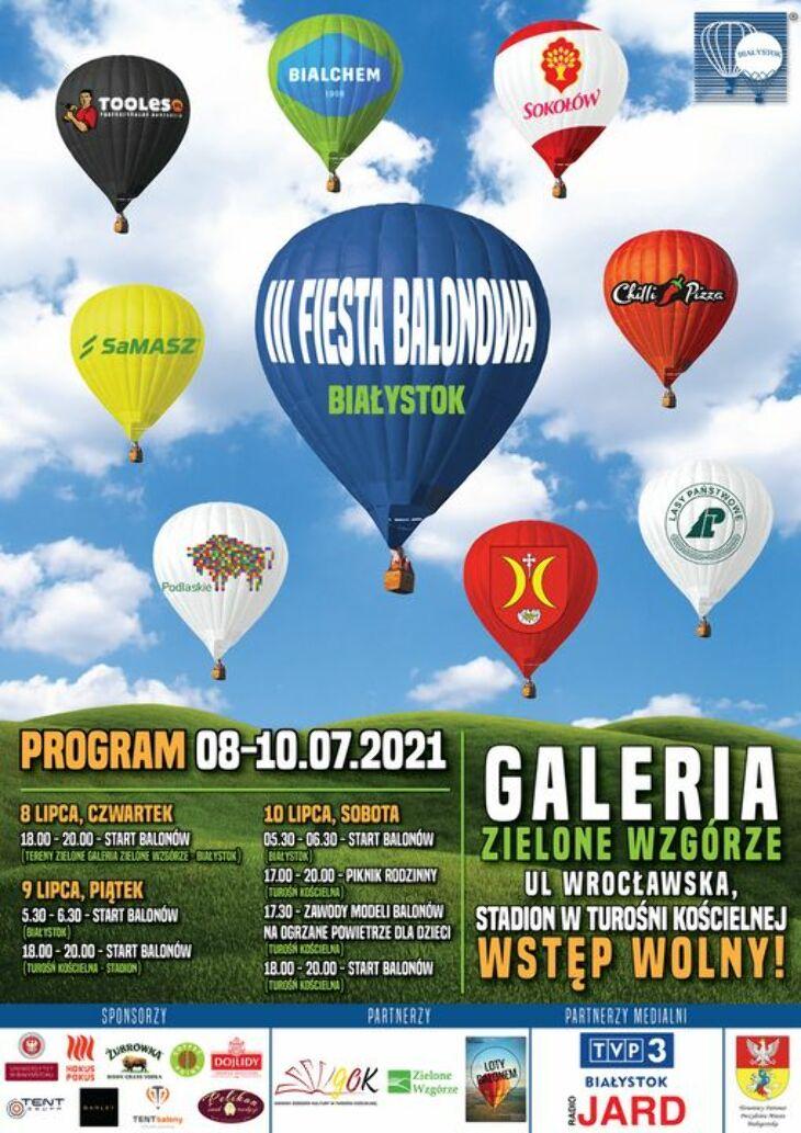 III Fiesta Balonowa w Białymstoku  (8-10.07)