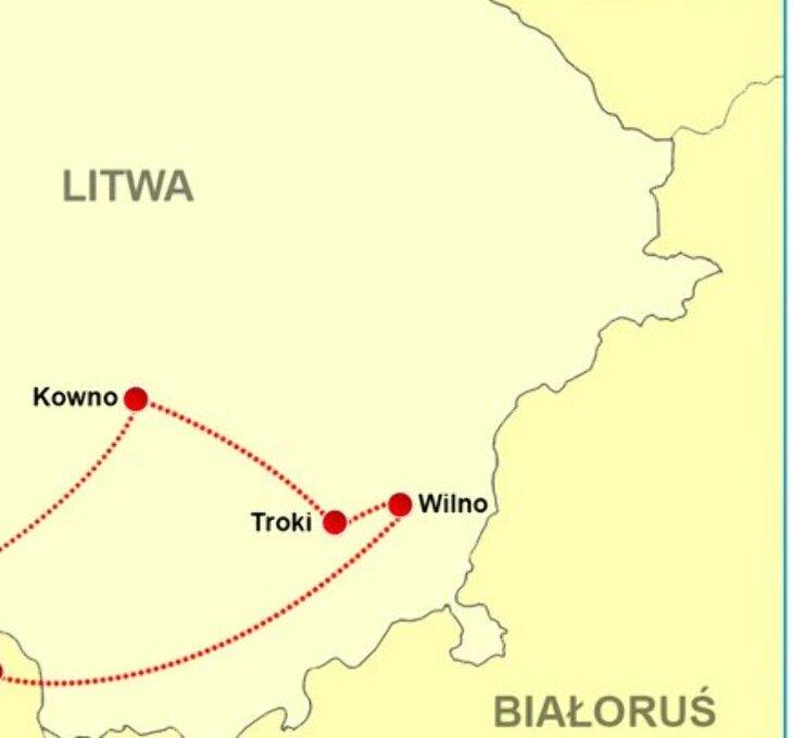 Pielgrzymka  Kowno - Troki - Wilno (7-8.08)
