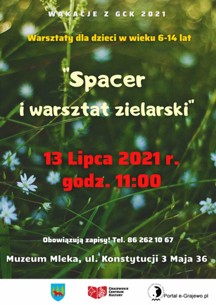 Spacer i warsztat zielarski (13.07)