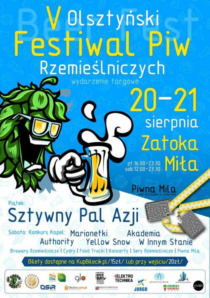 Olsztyński Festiwal Piw Rzemieślniczych  (20-21.08)