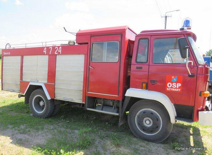 Ogłoszenie o sprzedaży samochodu specjalnego pożarniczego Star A200