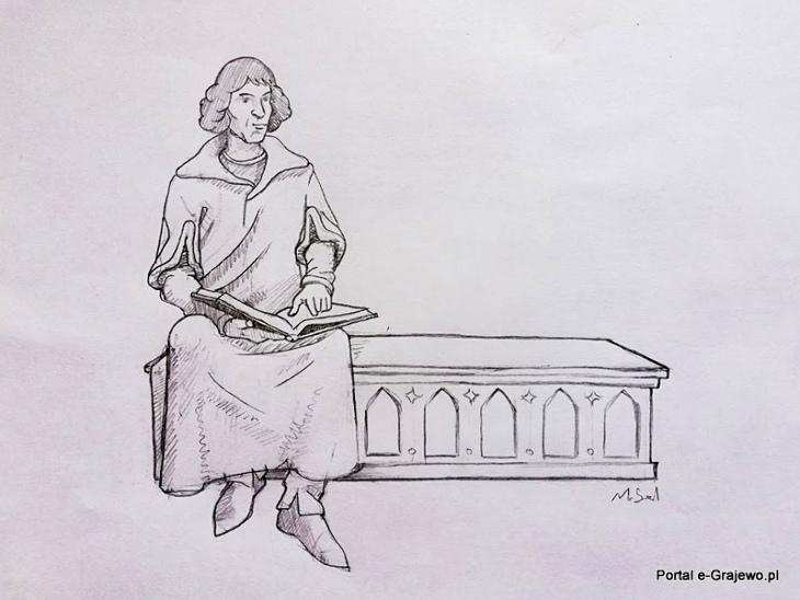 Spotkajmy się na ławeczce Kopernika w Grajewie
