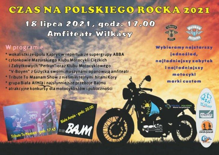 Zlot motocyklowy w Wilkasach 2021