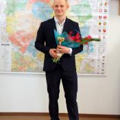 7. Grajewo, II 2021 - R. Wilczewski otrzymał tytuł Sportowca Roku 2020 Czytelników e-Grajewo.pl