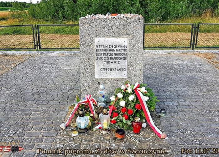 Szczuczyn: Pamięć pogromu Żydów