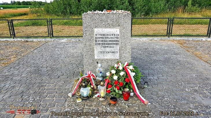 Pamięć pogromu Żydów