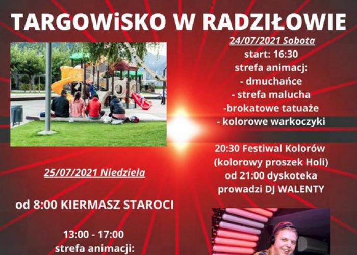Radziłów (24-25.07) - Festyn oraz Jarmark Staroci i Rękodzieła