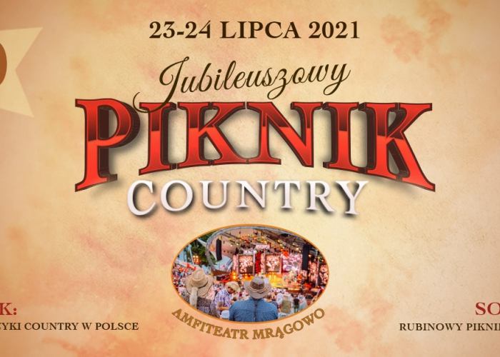 40 Jublieuszowy PIKNIK COUNTRY (23-24.07)