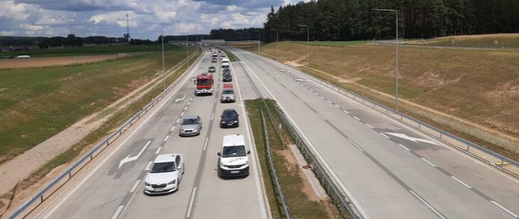 Kolejny odcinek trasy Via Baltica już przejezdny