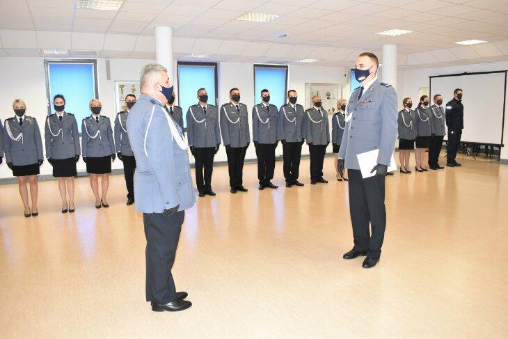Grajewscy policjanci uczcili 102 rocznicę powstania Polskiej Policji
