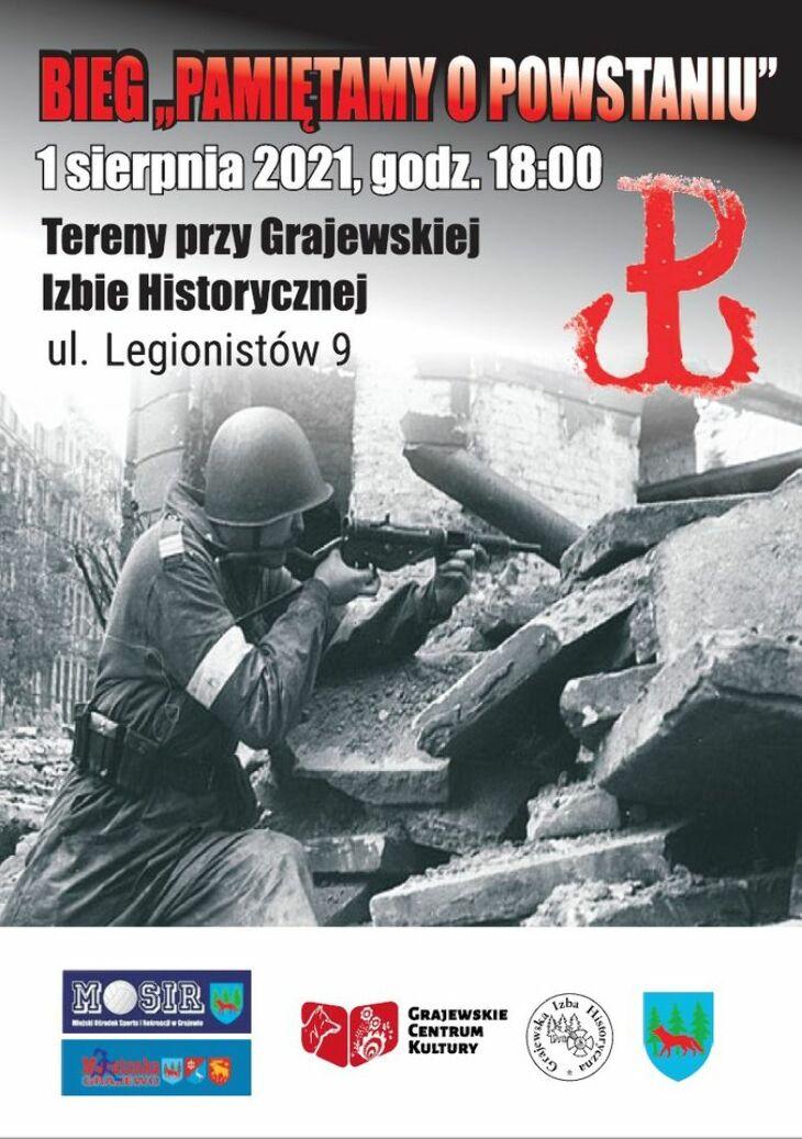 Bieg upamiętniający Powstanie Warszawskie