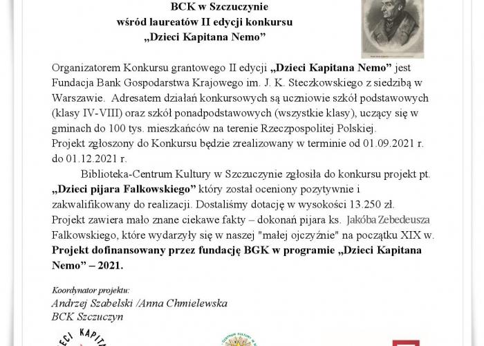 Szczuczyn: BCK  wśród laureatów II edycji konkursu-