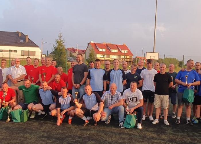 II Mundurowy Turniej Piłki Nożnej w Rajgrodzie