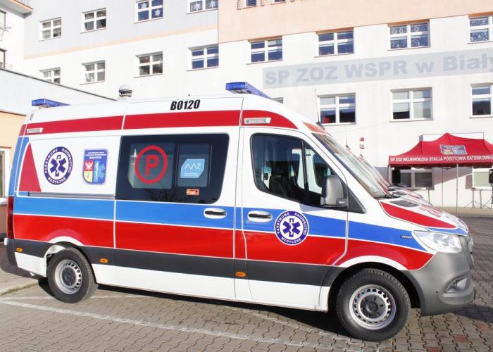 Białystok. Ratownicy pogotowia domagają się wyższych stawek