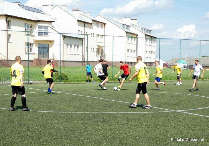 Niedzielny turniej piłki nożnej w Wąsoszu