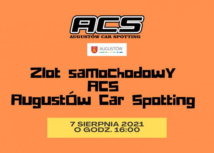 ACS Augustów Car Spotting (7.08)