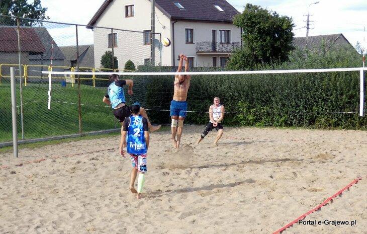 Turniej Piłki Plażowej o Puchar Wójta Gminy Wąsosz