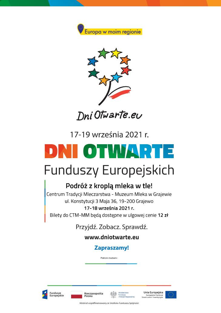 Dni Otwarte Funduszy Europejskich w Muzeum Mleka