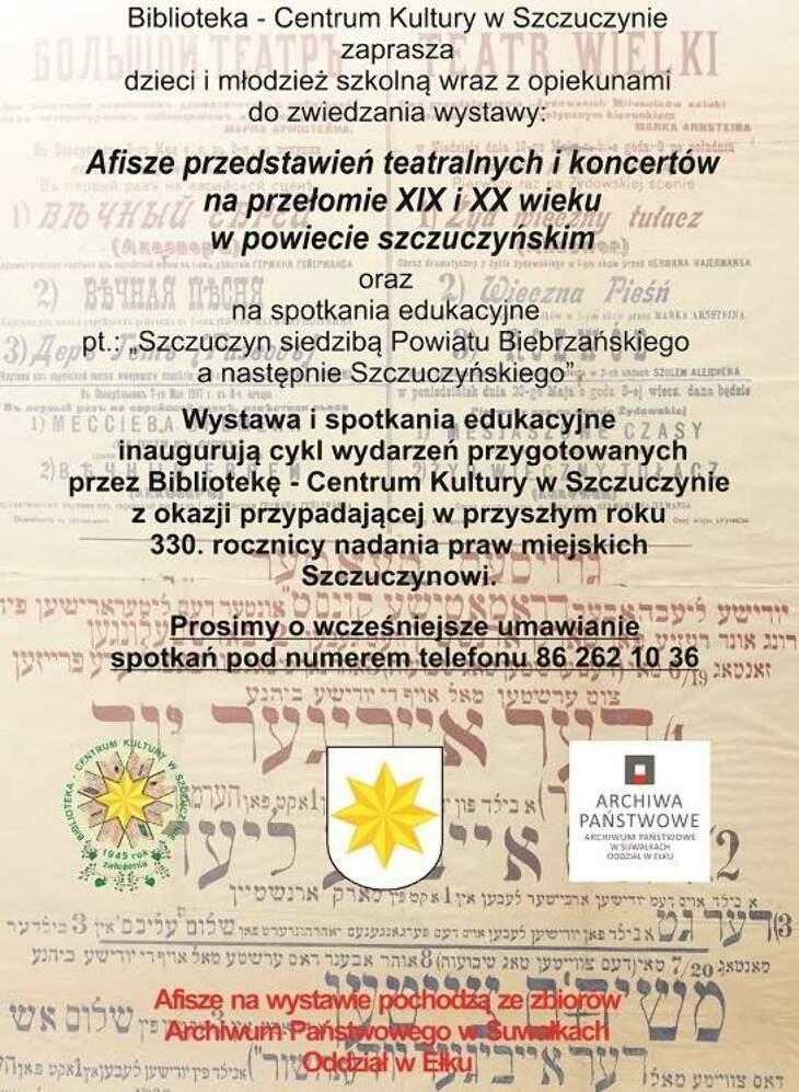 Wystawa i spotkania edukacyjne - zaproszenie!