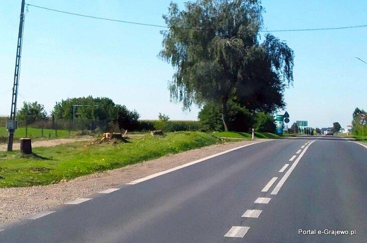 Ruszyła budowa ścieżki  na ul. Piłsudskiego