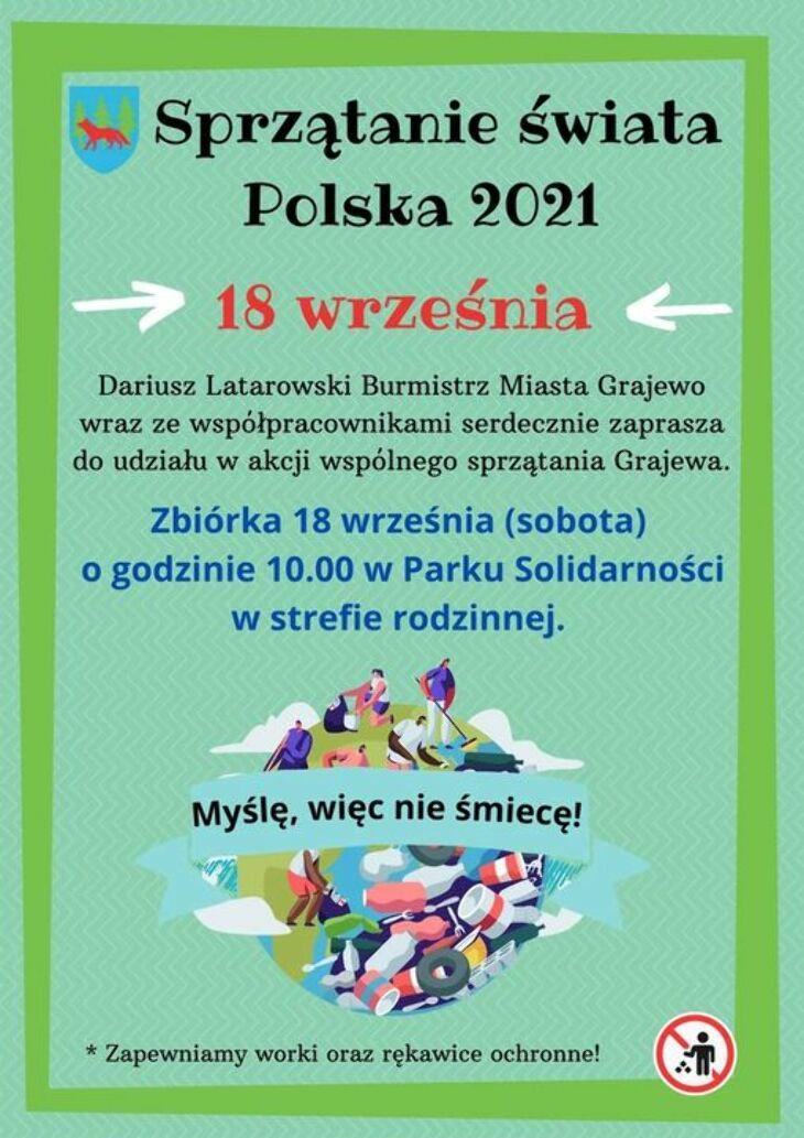 Akcja wspólnego sprzątania Grajewa (18.09)