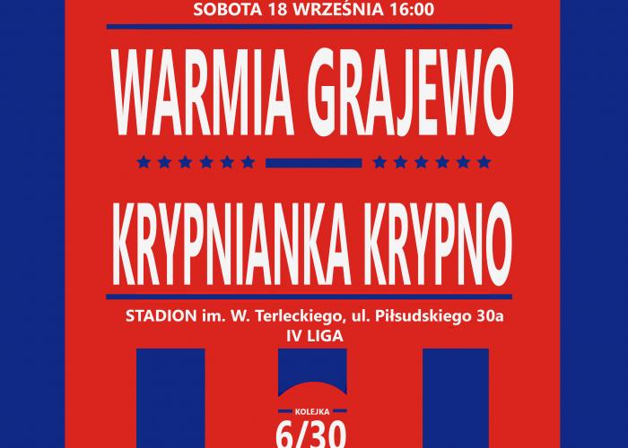 WARMIA - KRYPNIANKA (sobota,16:00)