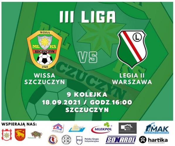 Szczuczyn: Wissa Szczuczyn - Legia II Warszawa 0:0