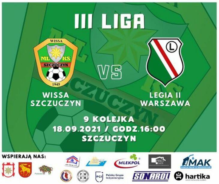 Wissa Szczuczyn - Legia II Warszawa 0:0