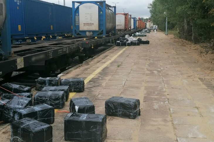 Próba przemytu papierosów w kolejowych cysternach