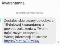 Uwaga na fałszywe smsy od nadawcy