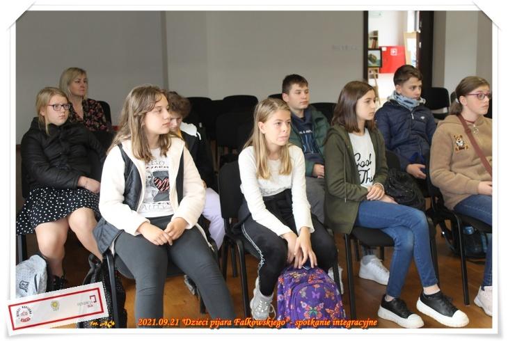 Spotkanie integracyjne - Dzieci pijara Falkowskiego