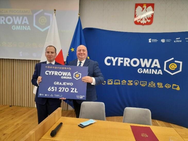 650 tys. zł na cyfryzację w Grajewie!
