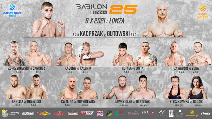 Babilon MMA 25 w Łomży