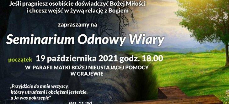 Seminarium Odnowy Wiary - kościół pw. MBNP (19.10)