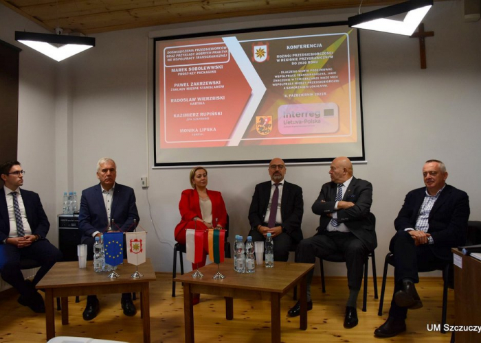 Szczuczyn: Międzynarodowa konferencja z przedsiębiorcami w Szczuczynie