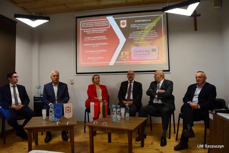Międzynarodowa konferencja z przedsiębiorcami w Szczuczynie