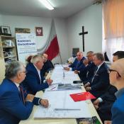 2. 9. 26.08.2021 w Grajewie odbyło się spotkanie z ministrem infrastruktury, prezesem PKP oraz z samorządowcami - poświęcone przejściu trasy kolejowej Rail Baltica w mieście Grajewo oraz przebiegu drogi ekspresowej S-16 na odcinku Knyszyn - Ełk.