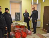 Strażacy-ochotnicy otrzymali sprzęt do ratowania życia i mienia