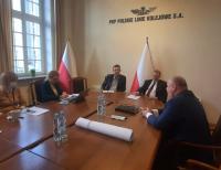 Rozmawiali o kolejowej inwestycji Rail Baltica w Grajewie