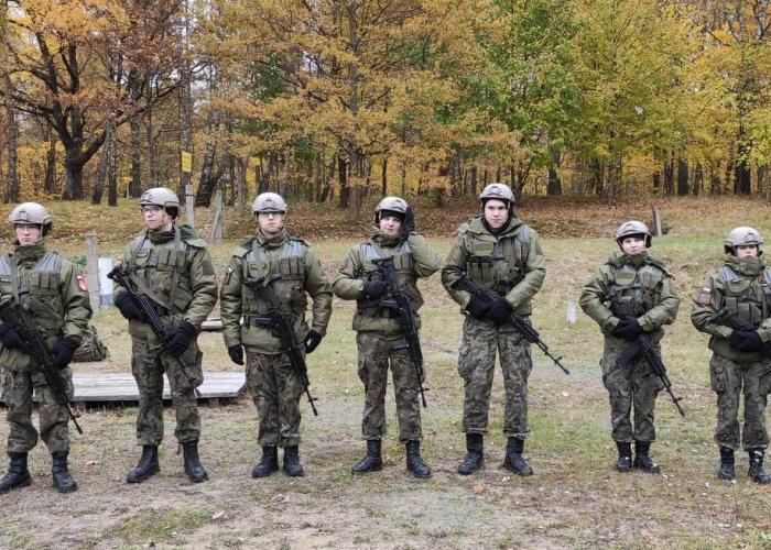 Klasa mundurowa ZS 2 z wizytą w Giżycku