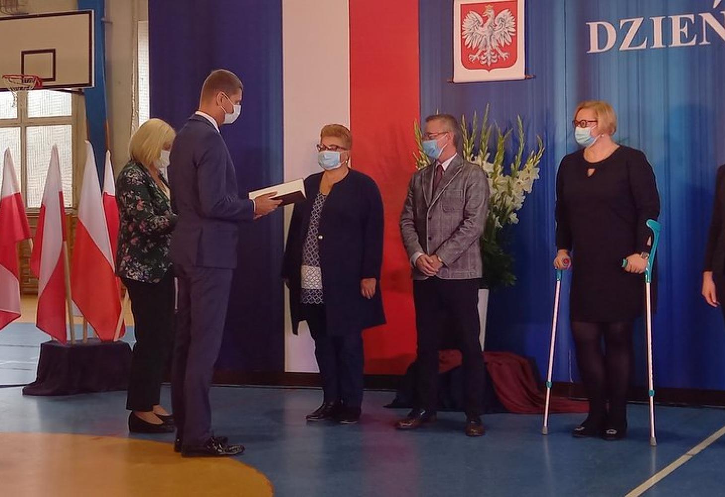 Pan Tomasz Kindeuszzostał uhonorowany nagrodą Ministra Edukacji i Nauki