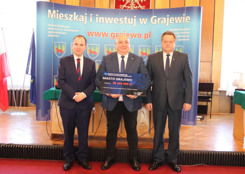 29 mln zł dla Grajewa w ramach Rządowego Funduszu Polski Ład