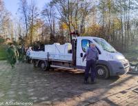 Jesienne zarybianie jeziora Toczyłowo i Mierucie