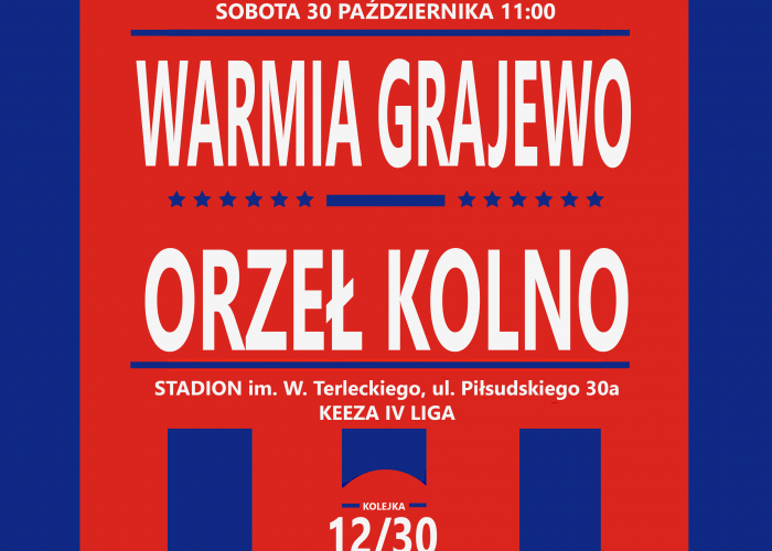 WARMIA - ORZEŁ (sobota 11:00)