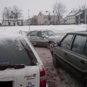 21. Jak oni parkują: parking przy LIDL-u.