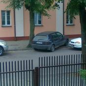 86. Jak oni parkują, ul. Strażacka, Grajewo Podpis: iza