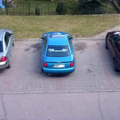 97. Jak oni parkują. Osiedle Południe  Podpis: osiedlowy