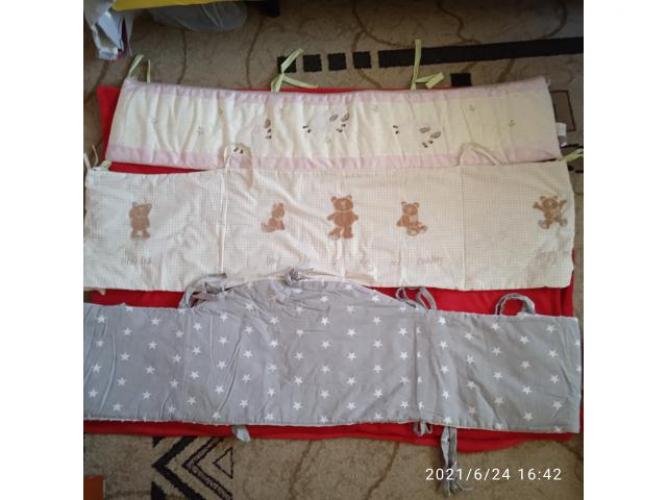 Grajewo ogłoszenia: Sprzedam ochraniacze na łóżeczko 15zł  za sztukę ochraniacze...